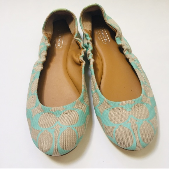 4a1c7b66f Coach Shoes | Aly Ballet Flats | Poshmark